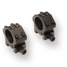 Recknagel Era Tac 2 piece ring mounts, 30mm, 10mm height, with Nuts